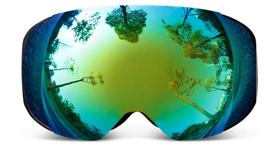 Copozz Smart Goggles makes it easy to change lenses