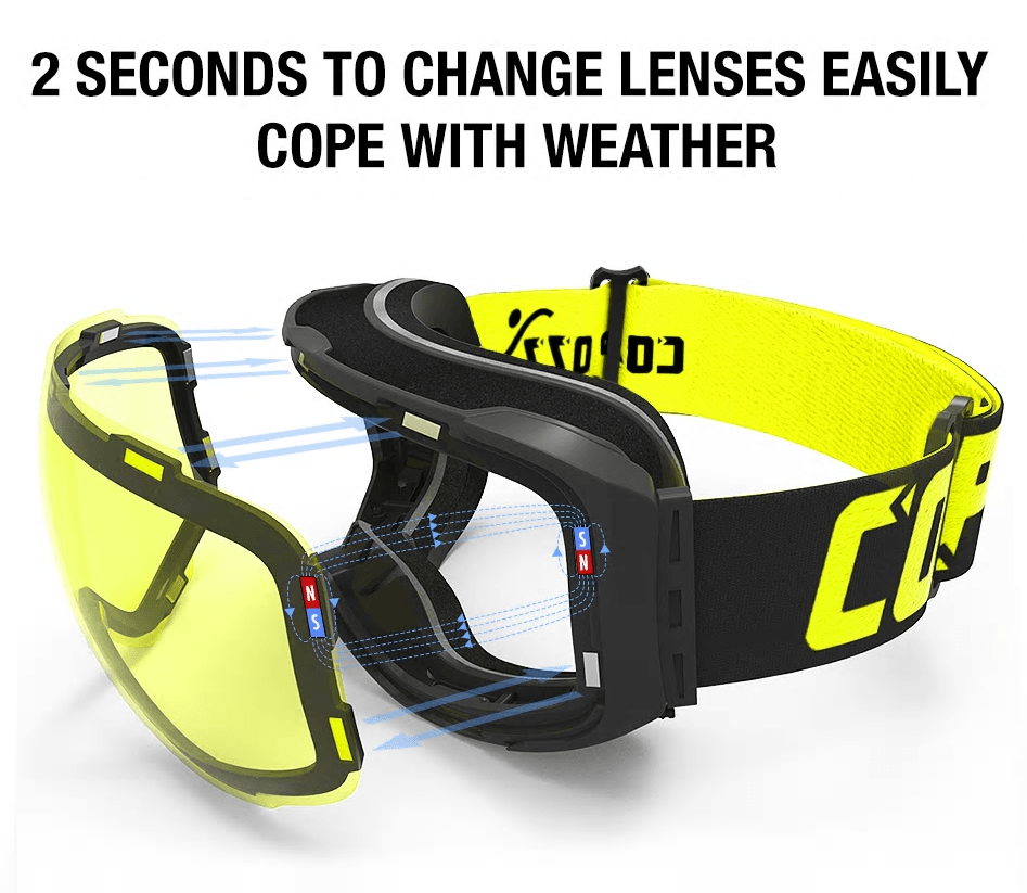 Cool Gadget Copozz Snow Goggles makes things easier when the weather turns