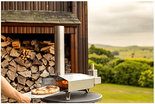 Make pizza the easy way with the Ooni 3 Portable Wood Pellet Pizza Oven
