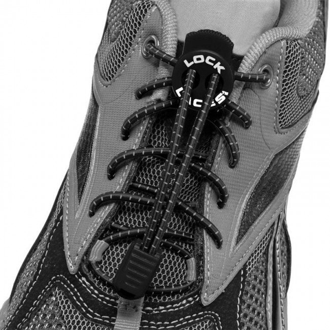 Lock Laces makes it easy to keep your shoes in check