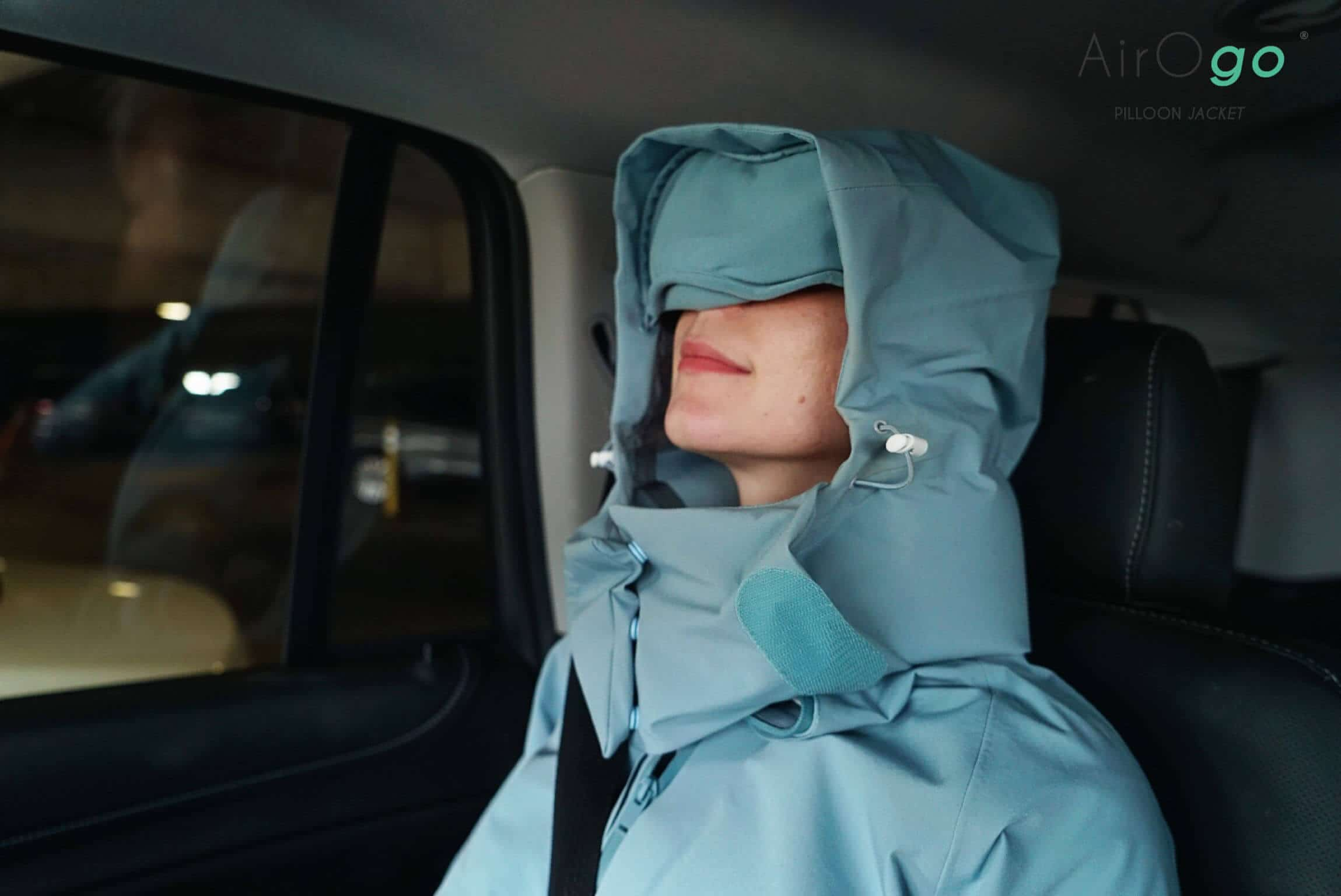 Travel smarter and sleep anywhere with the Pilloon Jacket
