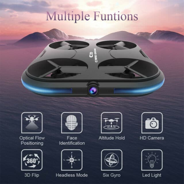 Kaideng Card Drone is a cool gadget recommended by The Lazy Society