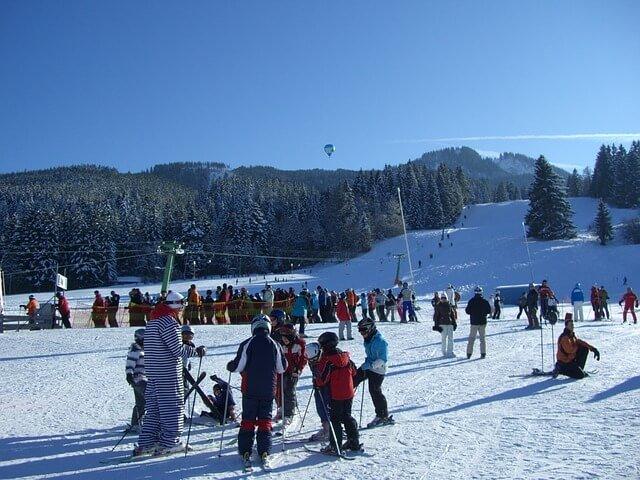 Ski lesson the easy way
