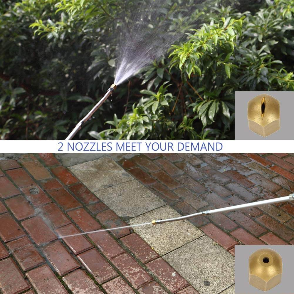 Hydro jet high pressure power washer cool gadget