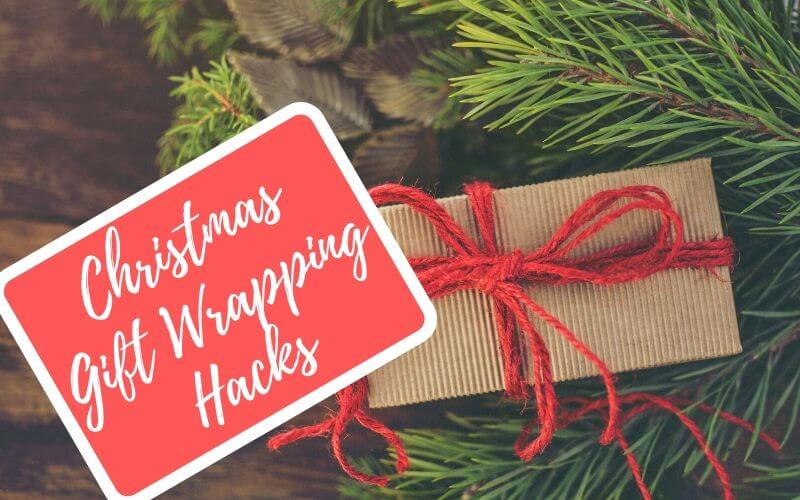 Simple DIY Christmas gift wrapping hacks