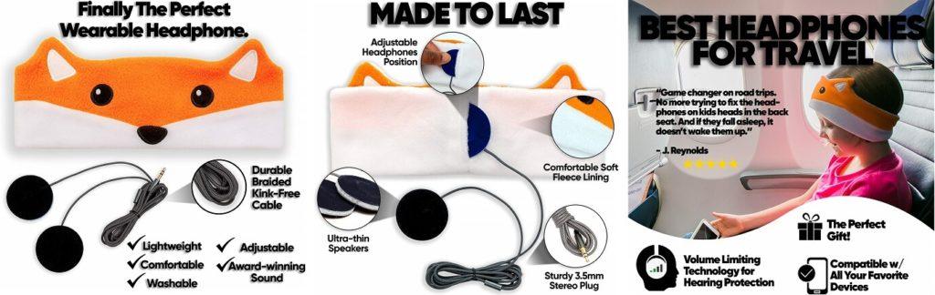 Lazy Christmas gift ideas for kids CozyPhone Headphones