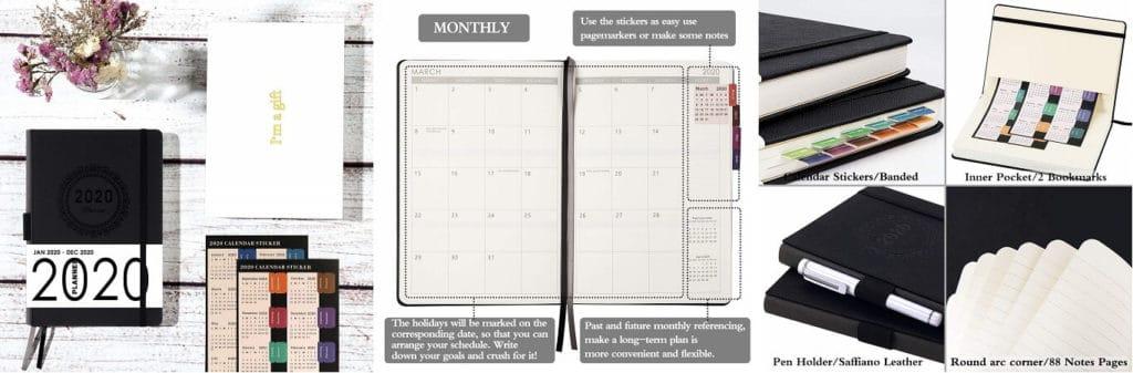 Lazy Christmas gift ideas for kids A3 calendar