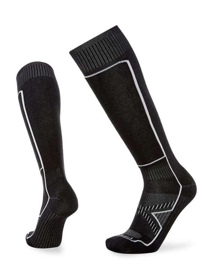 These thin Le Bent Ski Socks will keep snow riders riding comfortably all the day long.