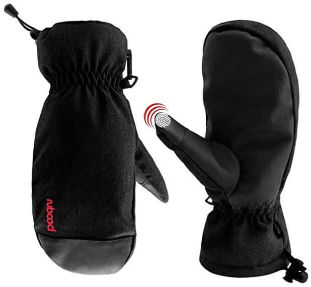 These Venoro Ski Mittens is a perfect gift for snow riders to keep their hands warm up the mountain.