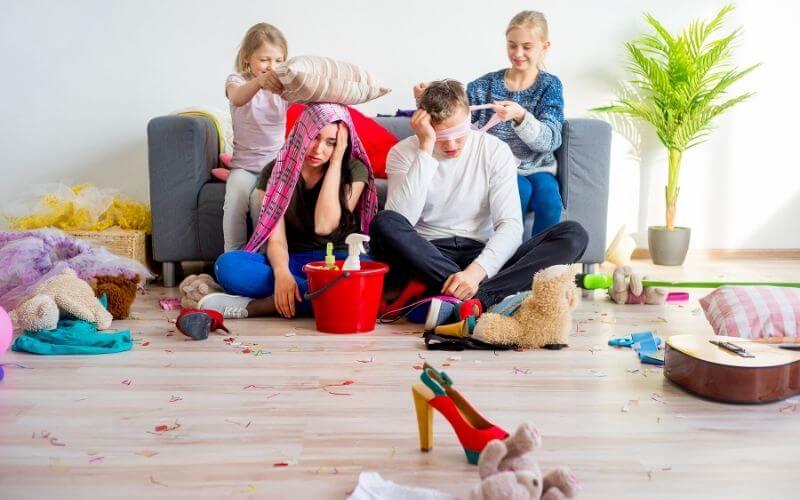 COVID-19 self isolation parenting hack
