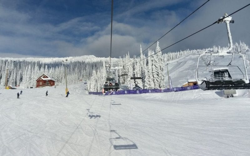 Big White Ski Resort Ski Lift