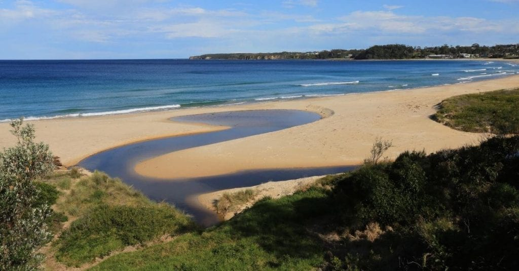 Mollymook beach in Ulladulla, worth visiting for a lazy weekend