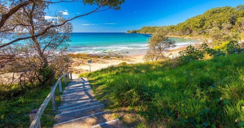 Narrawallee beach in Ulladulla, worth visiting for a lazy weekend